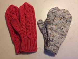 Hugs and Kisses by Betsy Slayton and Waiting for Winter Mittens by Susan B. Anderson